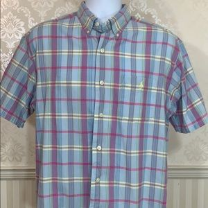 Men's Ralph Lauren Pastel Plaid Button-Down Shirt